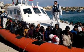 Իտալիայի ափերի մոտ ավելի քան 110 ներգաղթյալի են փրկել