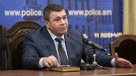Очередные кадровые перестановки в Полиции Армении