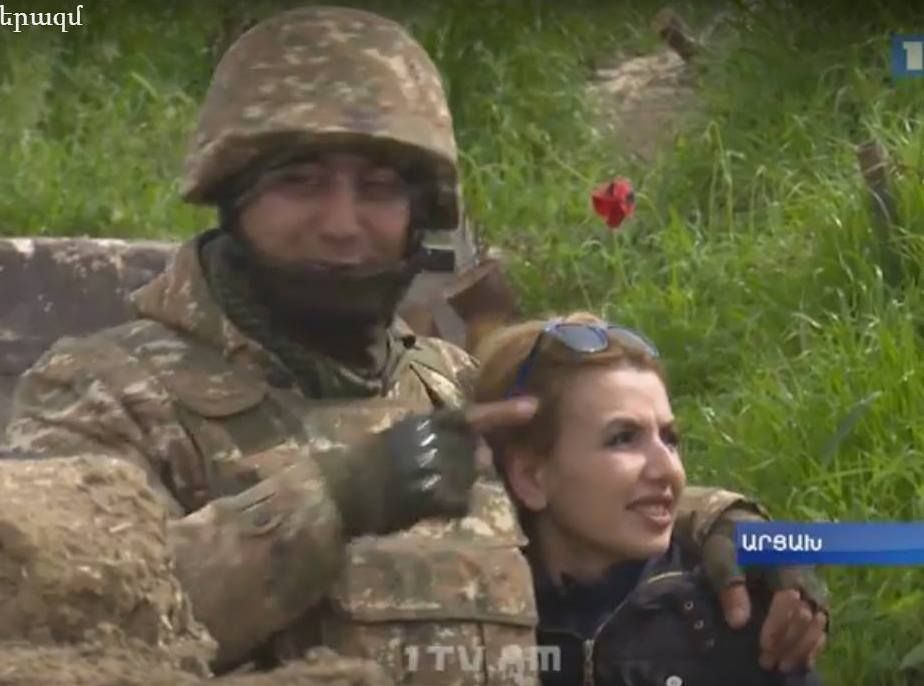 Սեր և պատերազմ. արցախցի լրագրողը ամուսնուն հանդիպեց խրամատներում. տեսանյութ