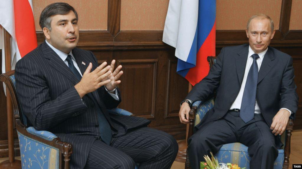 Միխեիլ Սաակաշվիլին անդրադարձել է Rustavi2 հեռուսաալիքով Պուտինին հայհոյելուն