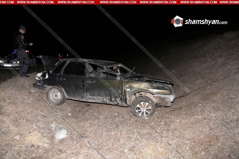 Լոռու մարզում հայտնաբերվել է ВАЗ մակնիշի վթարված ավտոմեքենան, իսկ դրսում՝ վարորդի սառած դին