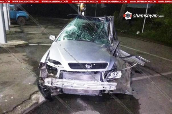 Ավտովթար Երևան-Իջևան ավտոճանապարհին. վարորդը հիվանդանոցում մահացել է