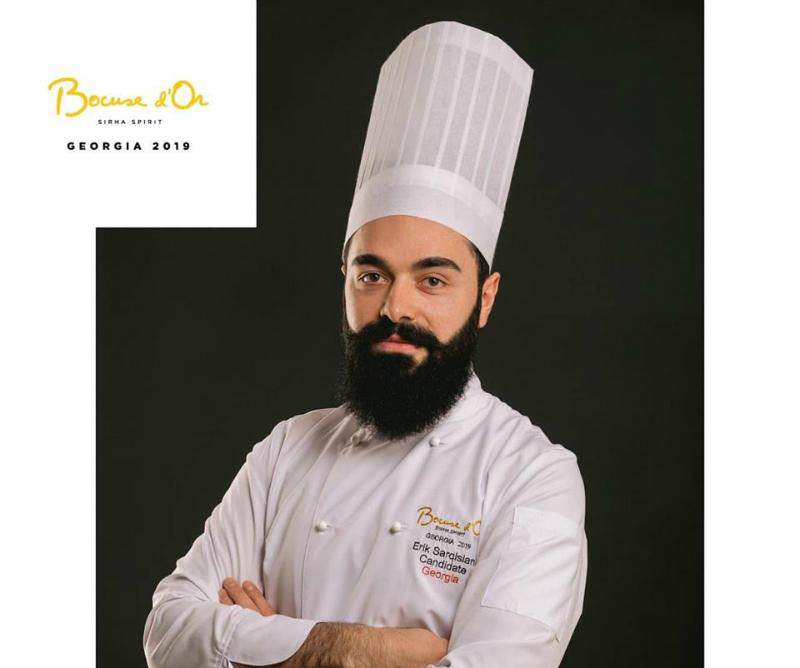 20-ամյա Էրիկ Սարգսյանը Վրաստանում խոհարարների հեղինակավոր մրցույթի հաղթող է ճանաչվել