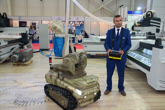 Թուրք զինվորականները PKK-ի դեմ պայքարում կօգտագործեն Ankerot ռոբոտ-տանկեր