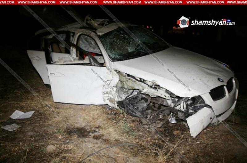 Շահումյան գյուղում BMW X5-ը վթարի է ենթարկվել. 23-ամյա վարորդի դին գտել են մեքենայից դուրս. Shamshyan.com