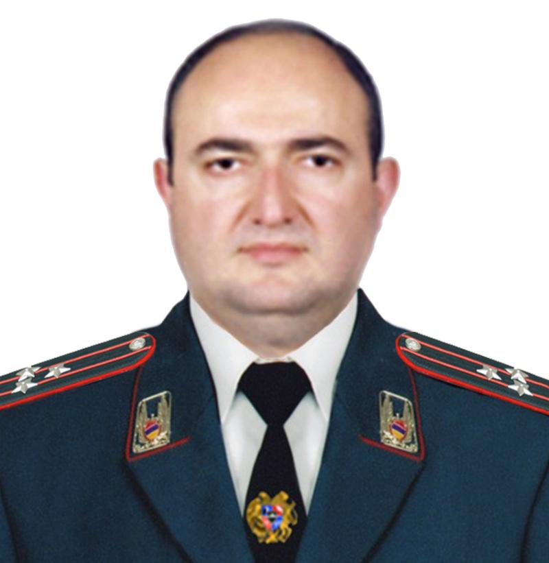 Վարդան Մովսիսյանը նշանակվել է ոստիկանության պետի տեղակալ