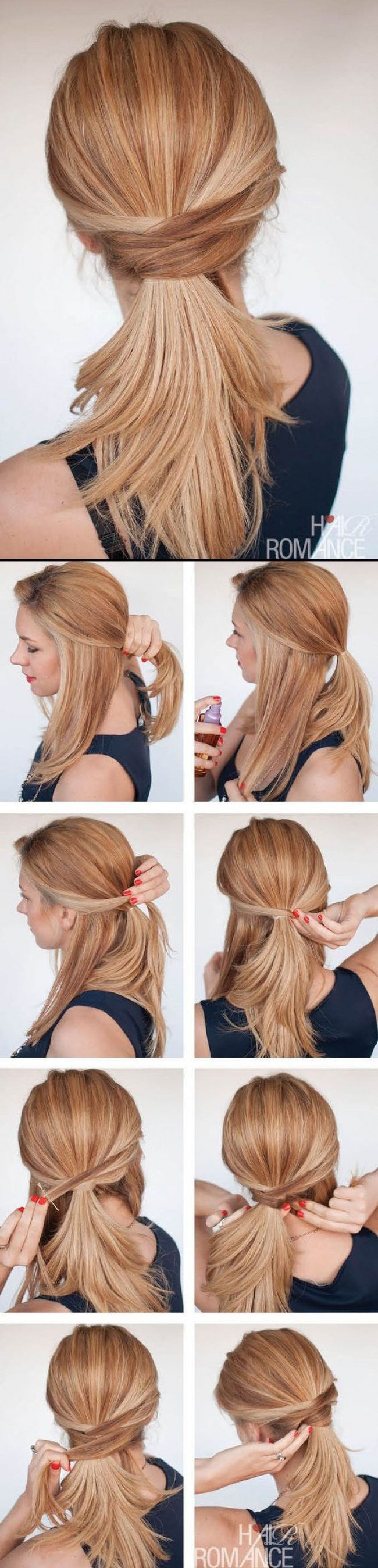 Մազերը գեղեցիկ հարդարելու 10 տարբերակ, եթե ուշանում եք