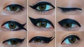 Աչքերի դիմահարդարման 9 գեղեցիկ տարբերակ (վիդեո)