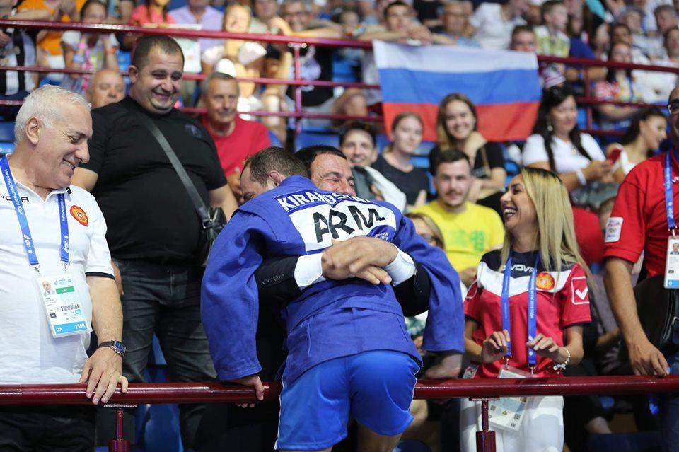 Տ. Կիրակոսյանը հաղթել է ադրբեջանցի մարզիկին և դարձել Եվրոպական խաղերի ոսկե մեդալակիր