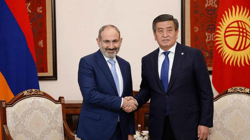 Վարչապետը շնորհավորական ուղերձ է հղել Ղրղզստանի նախագահին՝ Անկախության օրվա առթիվ