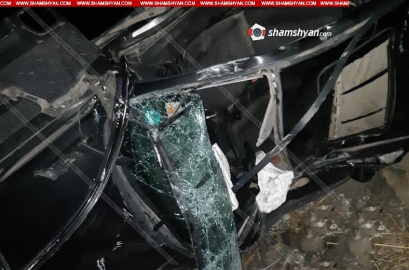 ՃՏՊ՝ Գյումրի-Բավրա ավտոճանապարհին. Opel-ը դուրս է եկել ճանապարհի երթևեկելի հատվածից և մոտ 50  գլորվել ձորը. կա զոհ