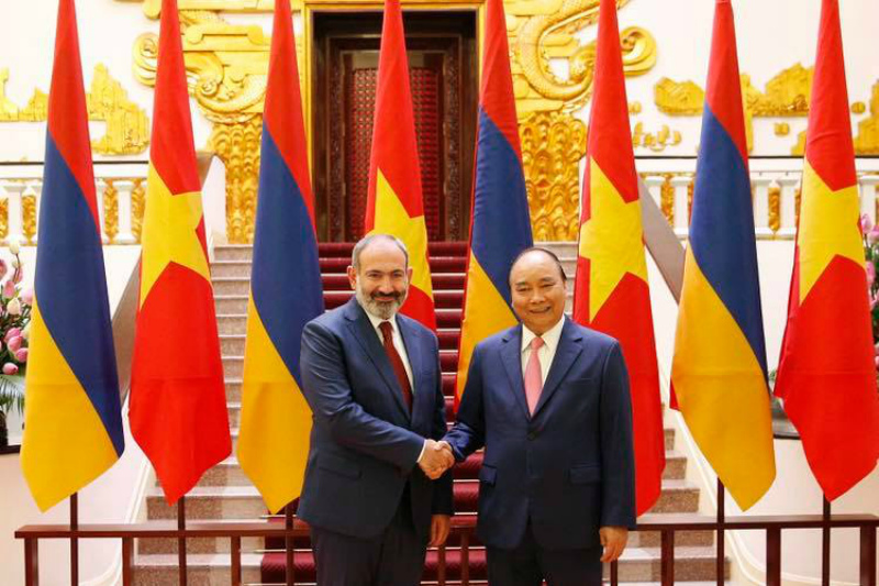 Գործնական և արդյունավետ հանդիպում ունեցա Վիետնամի վարչապետի հետ. Փաշինյան