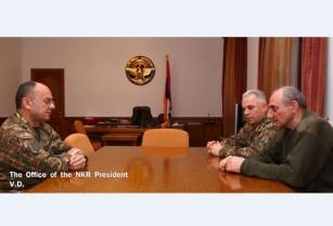 Բ. Սահակյանն ու Ս. Օհանյանը քննարկել են Ադրբեջանի կողմից ԼՂՀ-ի դեմ սանձազերծված լայնածավալ գործողությունների հետ կապված հարցեր