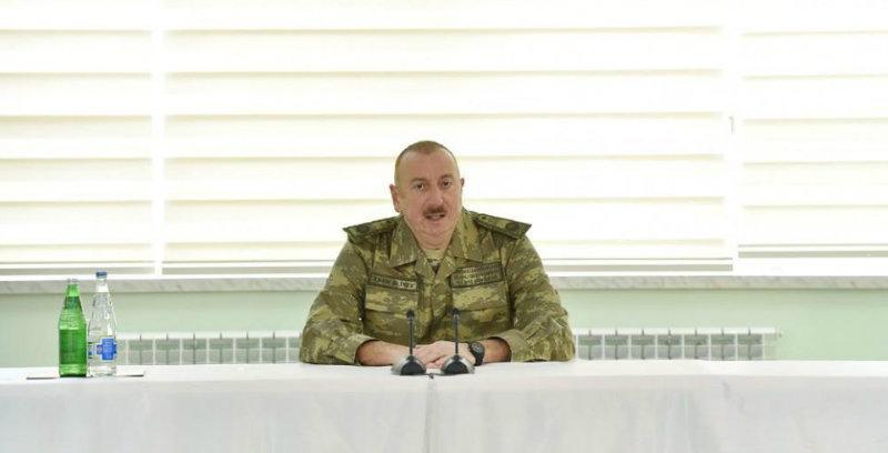 Ալիևը քննարկել է ռազմական համագործակցությունը Ռուսաստանի ԶՈՒ գլխավոր շտաբի պետի հետ