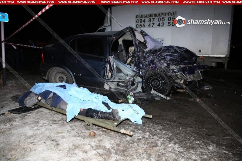 Ողբերգական ավտովթար է տեղի ունեցել  Գեղարքունիքի մարզում