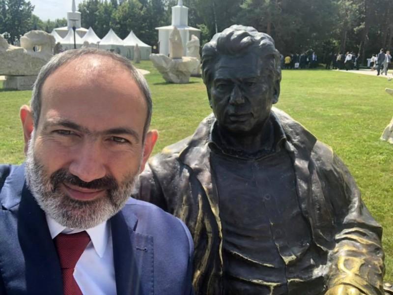 Նիկոլ Փաշինյանը Ղրղզստանից սելֆի է հրապարակել