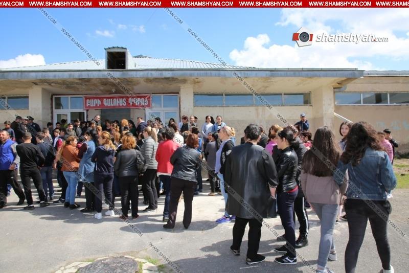 Լարված ու պայթյունավտանգ իրավիճակն Արամուսի դպրոցում պահպանվում է