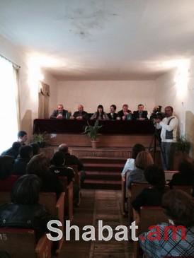 ԲՀԿ ղեկավար կազմի ներկայացուցիչները հանդիպեցին Եղեգնաձորի և հարակից գյուղերի ԲՀԿ տարածքային կառույցների ակտիվի հետ
