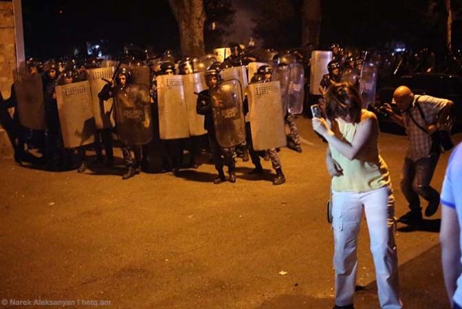 ՀՀ դատախազությունն ընթացք է տվել հավաքների լուսաբանման ընթացքում լրագրողների գործունեությանը խոչընդոտելու դեպքերի մասին ահազանգերին
