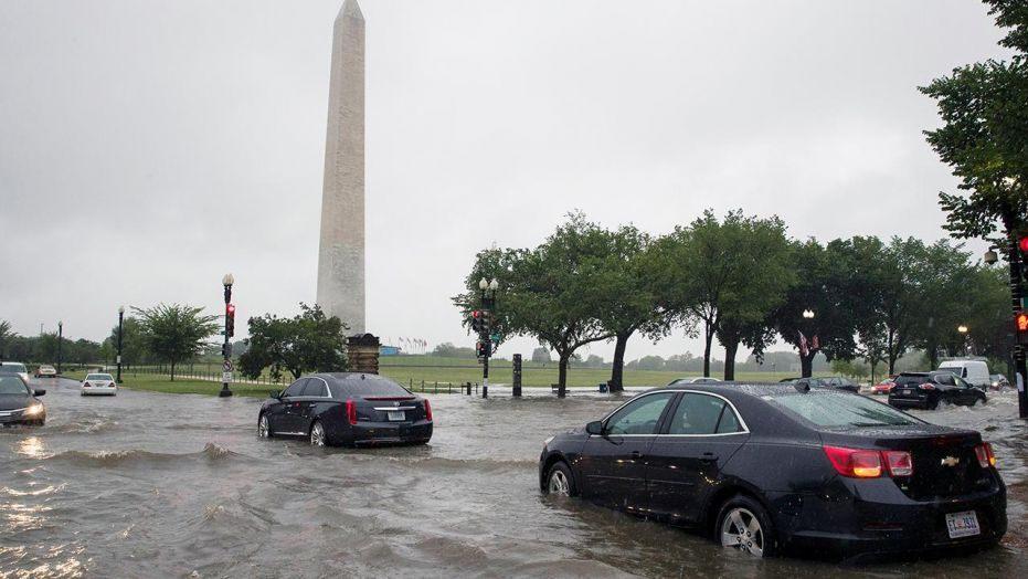 Վաշինգտոնում անձրևները ջրհեղեղի պատճառ են դարձել