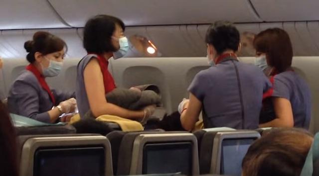 Կինը ծննդաբերել է օդանավում` 9000 մետր բարձրության վրա (տեսանյութ)