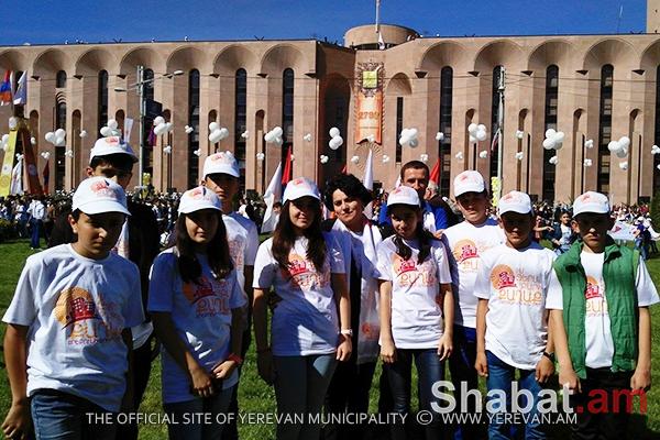 Արթիկցի և մարտակերտցի երեխաները տոնական օրերին հյուրընկալվել են Դավթաշեն վարչական շրջանում (լուսանկարներ)