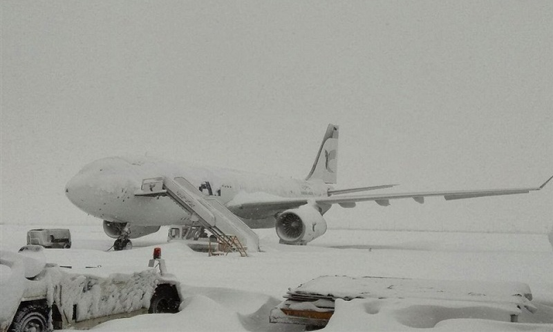 «Մեհրաբադ»-ը ձյան պատճառով դադարեցրել է թռիչքները, Թեհրան-Երևան չվերթը կժամանի կեսժամյա ուշացումով