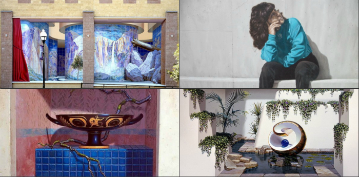Կենդանի պատերի պատրանք. «տեսողության խաբկանք» (լուսանկարներ)