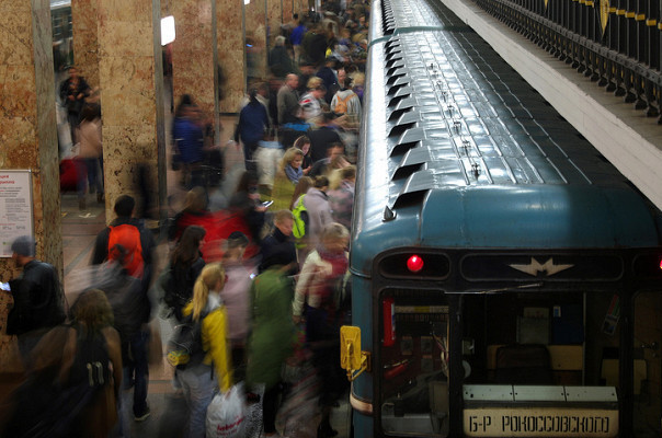 Մոսկովյան մետրոյում ինքնասպանության դեպք է գրանցվել