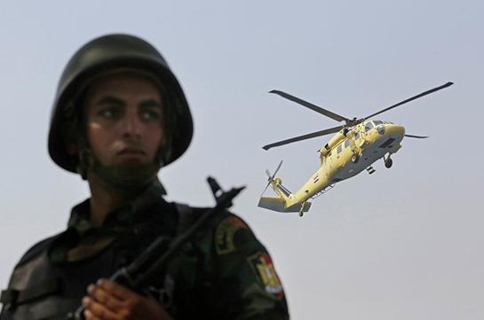 Եգիպտացի զինվորականները 3 ծայրահեղականի են վնասազերծել Սինայի թերակղզում