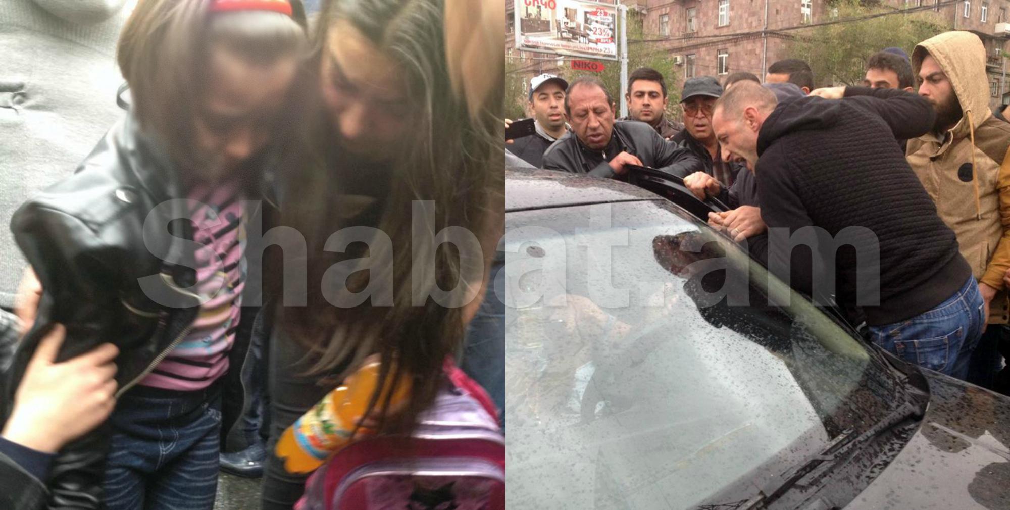 Կոմիտասի պողոտայում վարորդը մեքենան քշել է փոքրիկ աղջկա վրա (թարմացվող)