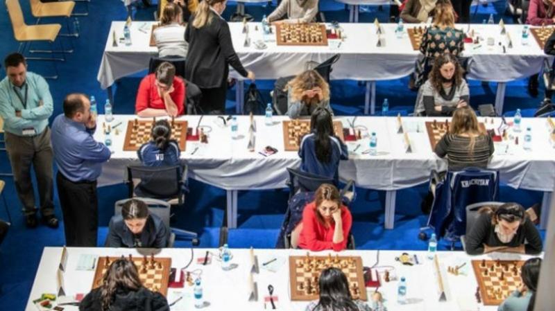 Հայաստանի կանանց հավաքականը պարտվեց Ադրբեջանի ընտրանուն և դուրս մնաց մեդալների համար պայքարից. Շախմատի թիմային ԵԱ