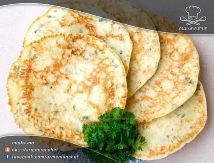 Лепешки с сыром и зеленью на сковороде рецепт пошагово с