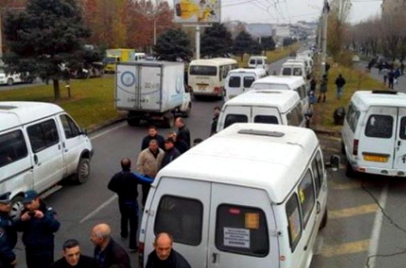 Վրաստանում  այսօրվանից արգելված է երթուղային տաքսիների տեղաշարժը