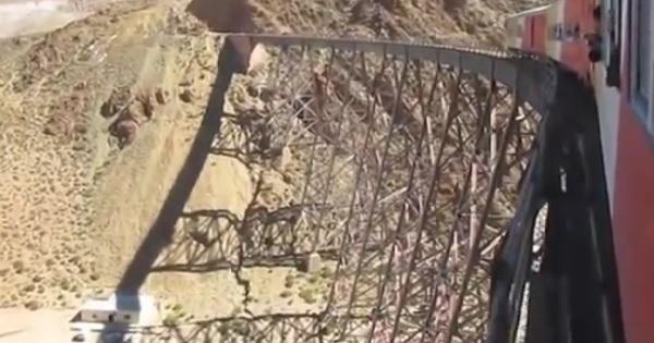 Աշխարհի ամենավտանգավոր երկաթգիծը (տեսանյութ)