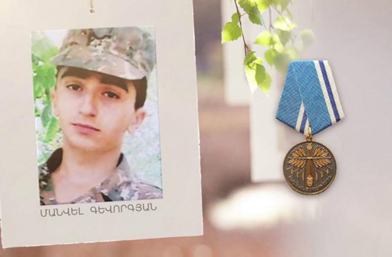 Այսօր ապրիլյան պատերազմի հերոս Մանվել Գևորգյանի ծննդյան օրն է
