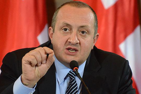 Վրաստանի նախագահը նորից պահանջում է քննարկել Գազպրոմի հետ համագործակցության հարցը