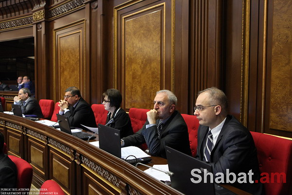 Լյուդմիլա Սարգսյանն ու Լևոն Զուրաբյանը վիճում էին ԱԺ նիստերի դահլիճում