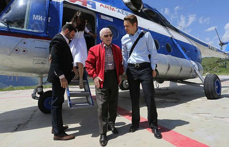 Հայաստանում կբացվի «Ազնավուր» կենտրոնը
