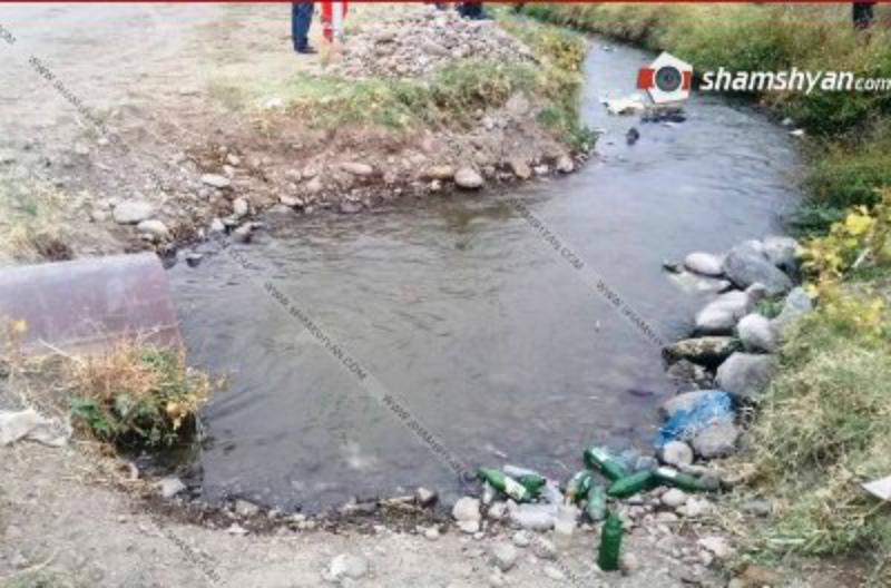 56-ամյա քաղաքացու դին հայտնաբերել են ջրանցքում