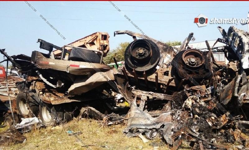 Հայաստանի քաղաքացին Վրաստանում բեռնատարով գլորվել է ձորը. դին եւ մեքենան վերածվել են մոխրի