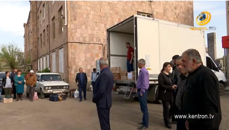 Գագիկ Ծառուկյանի օգնությամբ Գեղարքունիքի մարզի զինծառայողների 100-ից ավելի ծնողներ մեկնել են Արցախ