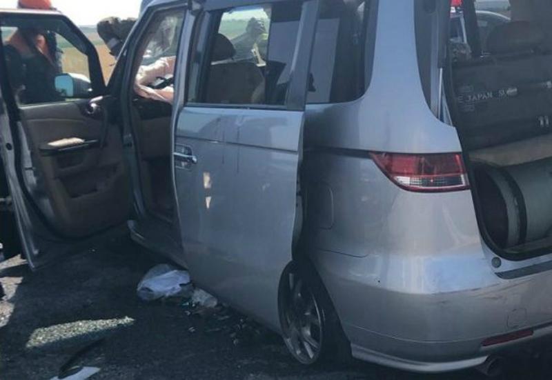 ՌԴ-ում Հայաստանի համարներով մեքենայի մասնակցությամբ զանգվածային ավտովթար է տեղի ունեցել