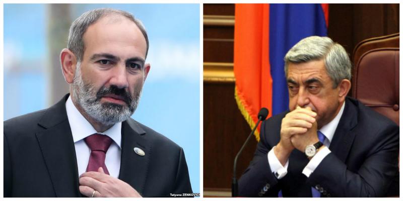 Ես չեմ պատրաստվում շփվել Սերժ  Սարգսյանի հետ.Փաշինյան