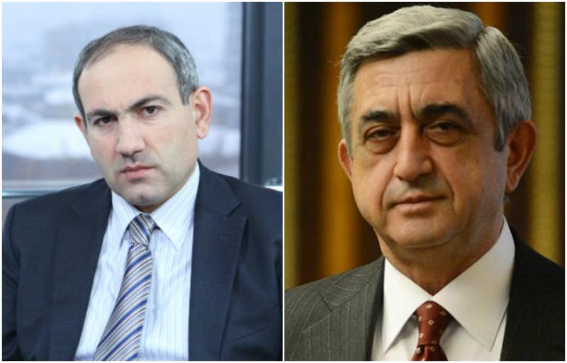 Առավոտյան Նիկոլ Փաշինյանն ու Սերժ Սարգսյանը կհանդիպեն