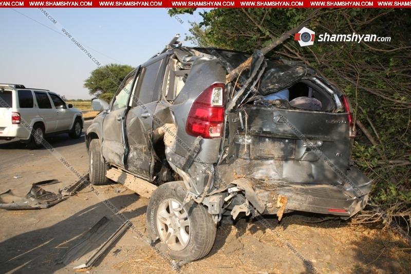 Արմավիրի մարզում Nissan-ը բախվել է Lexus-ին. կան վիրավորներ. «Shamshyan.com»