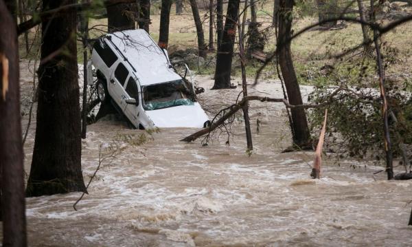 Տեխաս նահանգում ջրհեղեղի պատճառով զոհվել է նվազագույնը հինգ մարդ