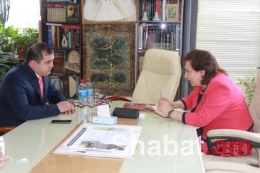 Հրանուշ Հակոբյանն ընդունել է Ռուսաստանի հայերի միության Կամչատկայի տարածաշրջանի ղեկավարին