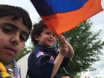 Վաշինգտոնի հայ համայնքը Թուրքիայի դեսպանատան առջեւ բողոքի ցույց անցկացրեց