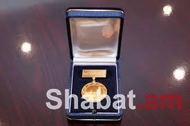 Մայրաքաղաքի զարգացման գործում ներդրած ավանդի համար քաղաքապետի ոսկե մեդալներ են հանձնվել մի շարք անձանց